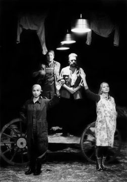 Jelenet a Parasztoperából - Dusa Gábor felvétele