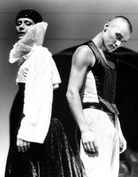 Nagy-Kálózy Eszter (Melinda) és Trill Zsolt (Ottó) Vidnyánszky Attila rendezésében. Schiller Kata felvétele