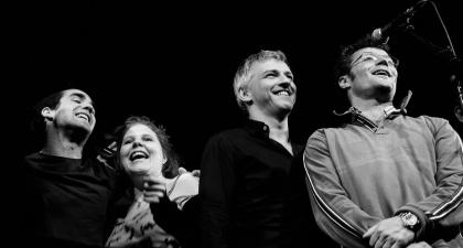 Fehér Tibor, Mészáros Piroska, Alföldi Róbert és Stohl András. Szkárossy Zsuzsa felvétele