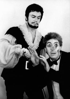 Melis György és Polgár László a Ljubimov rendezte Don Giovanniban