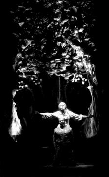 Senta a képzeletbeli Hollandival (Harry Kupfer rendezése). Wilhelm Rauh felvétele