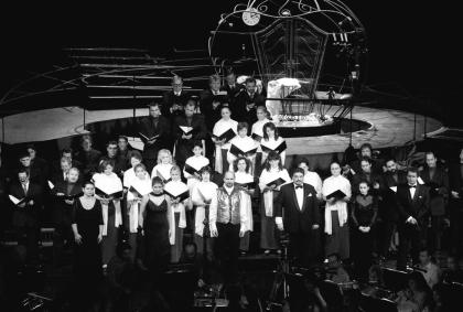 A Don Giovanni fináléja Kesselyák Gergely rendezésében. Mezey Béla felvétele