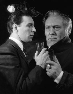 A Hosszú út az éjszakában című drámában (1963) Bessenyei Ferenccel. MTI – Keleti Éva