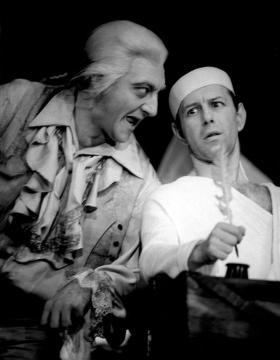 A Marat halálában (1966) Sinkovits Imrével. MTI – Keleti Éva felvételei