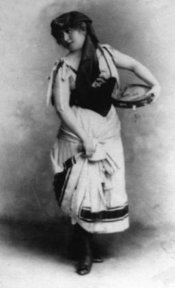 Márkus Emilia mint Nóra (Nemzeti Színház, 1889)