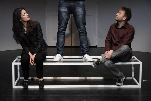 Huzella Júlia, Schmied Zoltán és Bánki Gergely / fotó: Hajmási Péter