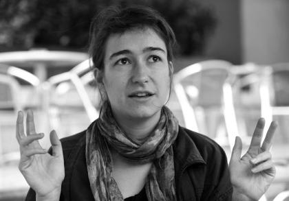 Sarah Günther. Schiller Kata felvétele