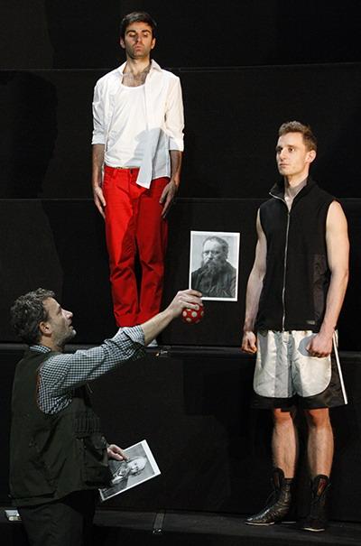 Bárka Színház, III. Hullám 2012.11.07. Fotó: Dudás Szabolcs